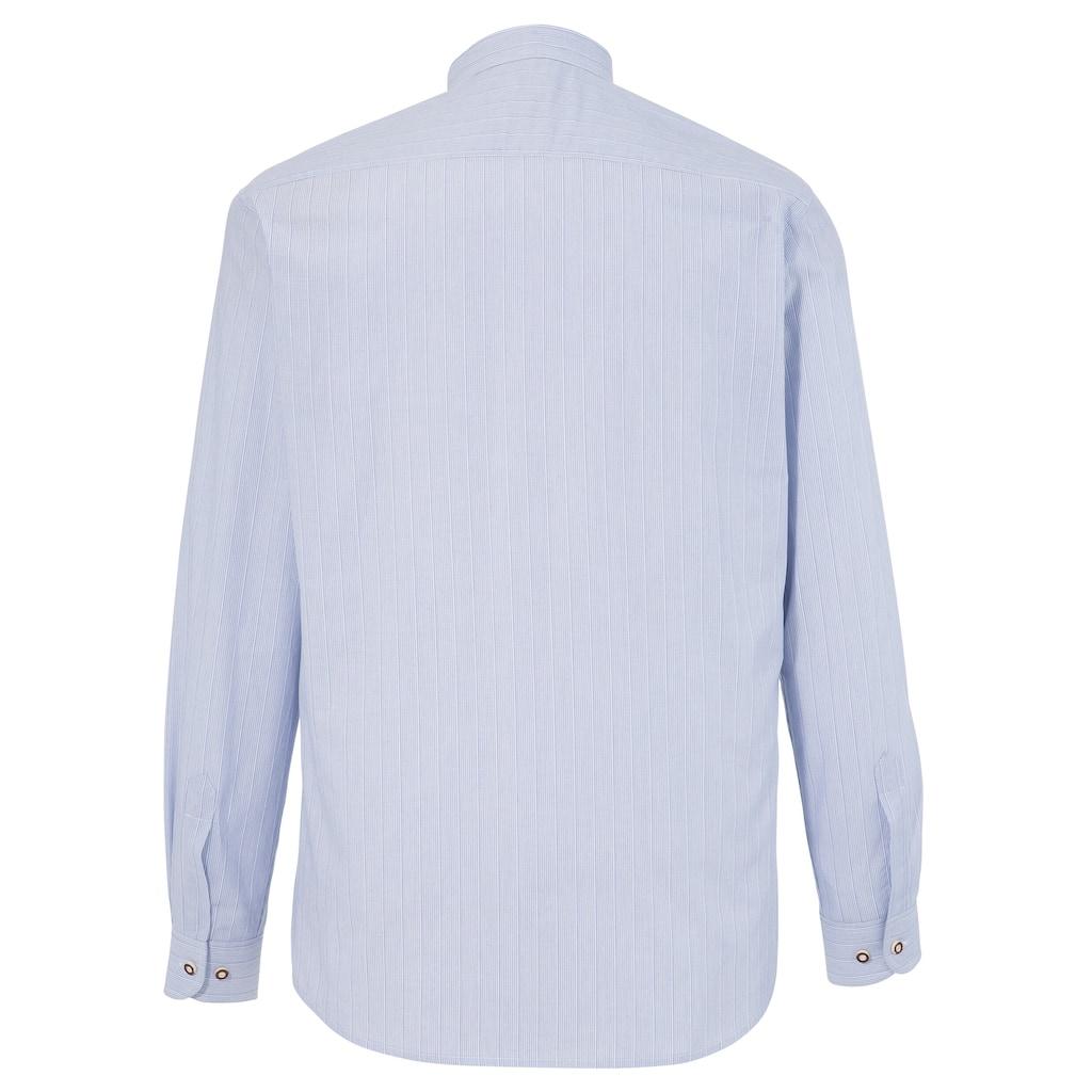 Country Line Trachtenhemd, mit Biesen entlang der Knopfleiste