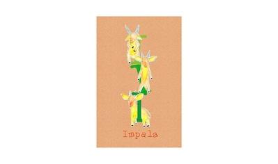 Komar Poster »ABC Animal I«, Buchstaben, Höhe: 70cm kaufen