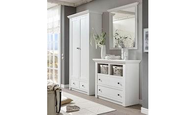 Home affaire Garderoben-Set »California«, (Set, 3 tlg.), Set aus: Kommode, Garderobenschrank und Spiegel kaufen