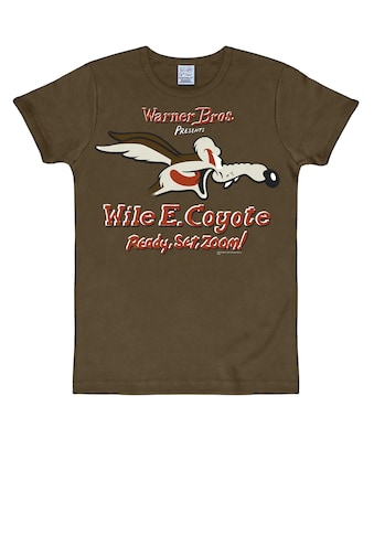 LOGOSHIRT T-Shirt »Coyote Looney Tunes«, mit Coyote-Print kaufen