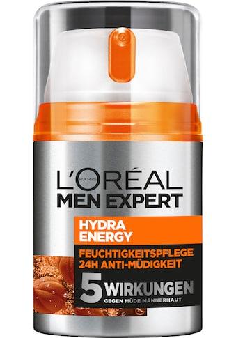 L'ORÉAL PARIS MEN EXPERT Feuchtigkeitscreme »Hydra Energy 24H Anti-Müdigkeit«,... kaufen