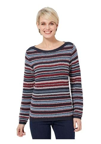 Casual Looks Pullover im Strickmuster - Mix kaufen