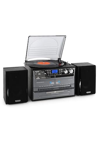 Auna Stereoanlage USB MP3 Kassette CD Plattenspieler Encoder »TC - 386« kaufen