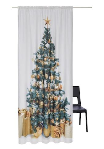 my home Vorhang »Xmas Tree«, HxB: 230x140, Weihnachtsdeko kaufen
