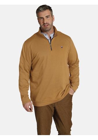 Charles Colby Sweatshirt »EARL SILUR«, Stehkragen mit Reißverschluss kaufen