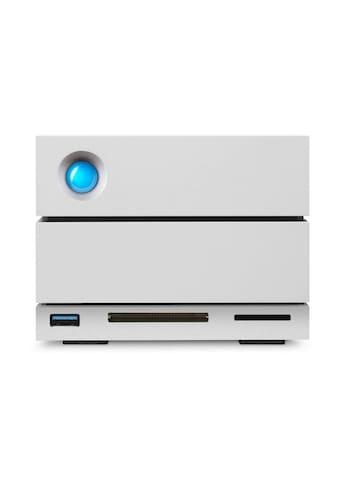 "LaCie NAS-Server »2big Dock 32TB Thunderbolt 3 USB-C«, externe Festplatte, 3,5"" kaufen"