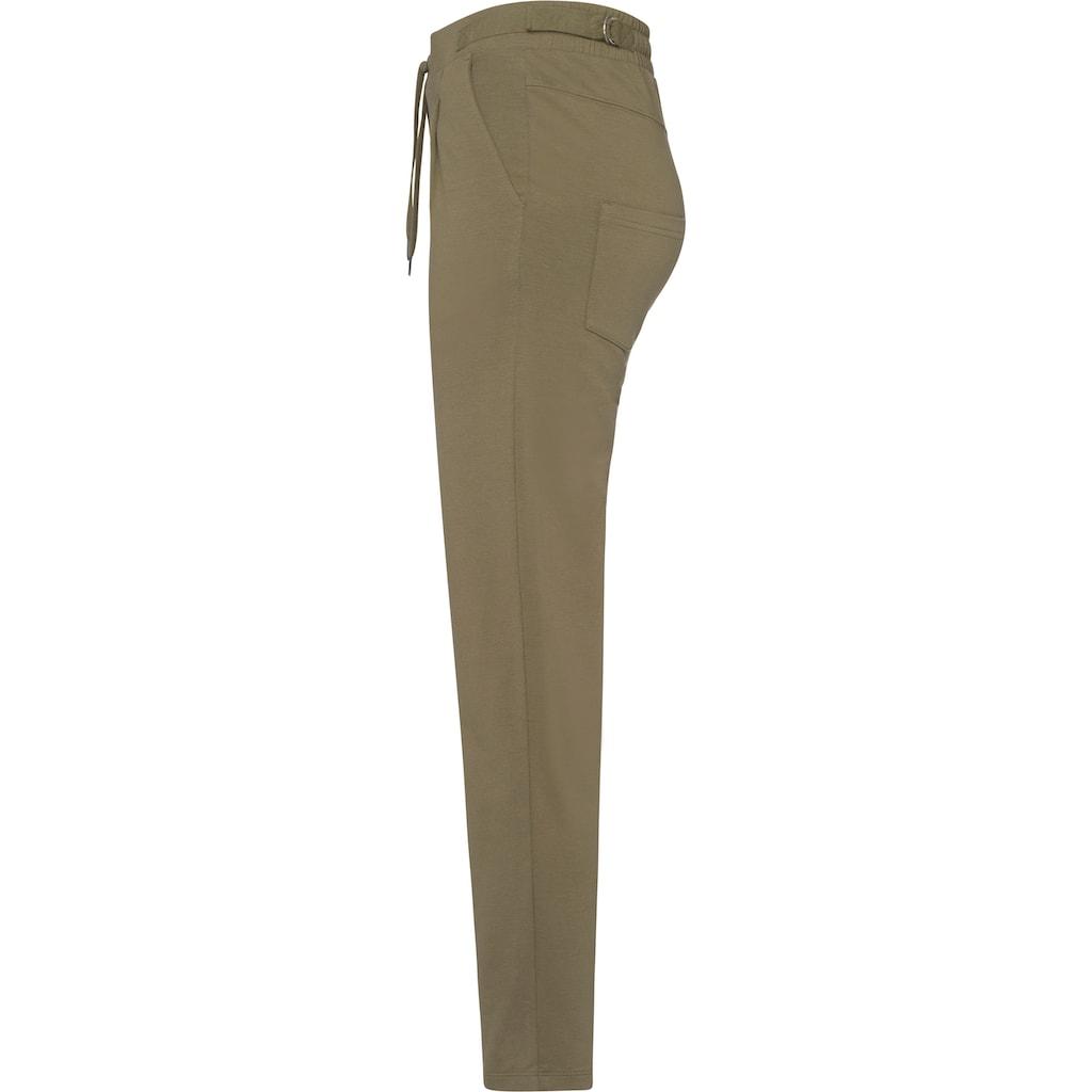 KangaROOS Jogger Pants, mit modischen Riegeln am Bund