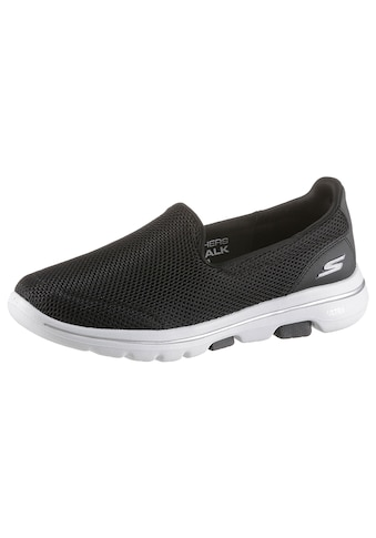 Skechers Slip-On Sneaker »Go Walk 5«, mit Air Cooled Goga Mat kaufen