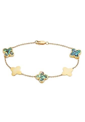 GEMMONA Armband »Blume, Q0008B/90/CO/19«, mit Perlmutt kaufen