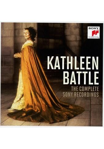 Musik-CD »Kathleen Battle-The Complete Sony Recordings / Battle,Kathleen« kaufen