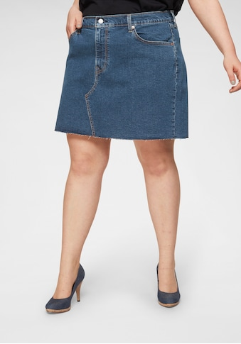 Levi's® Plus Jeansrock »Plus Size Deconstructed Skirt«, mit ausgefranster Rock-Kante kaufen