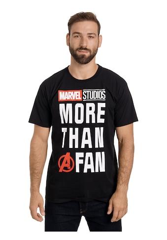 MARVEL T-Shirt »Marvel Fan« kaufen