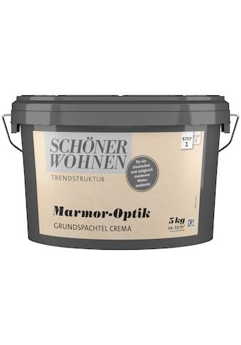SCHÖNER WOHNEN-Kollektion Spachtelmasse »Marmoroptik Grundspachtel crema«, 5 kg kaufen