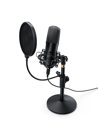 LIAM&DAAN Profi Podcast Set - USB Studiomikrofon kaufen