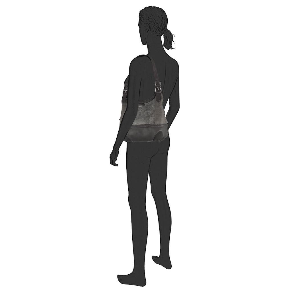TOM TAILOR Schultertasche »JUNA«, mit schicken Zierschnallen