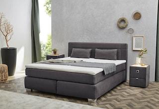 jockenh fer gruppe boxspringbett mit kaltschaum topper und zierkissen kaufen bei otto. Black Bedroom Furniture Sets. Home Design Ideas