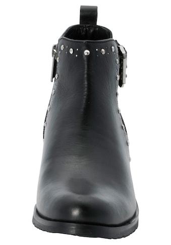 Sheego Stiefelette, mit Nietenbeseätzen kaufen
