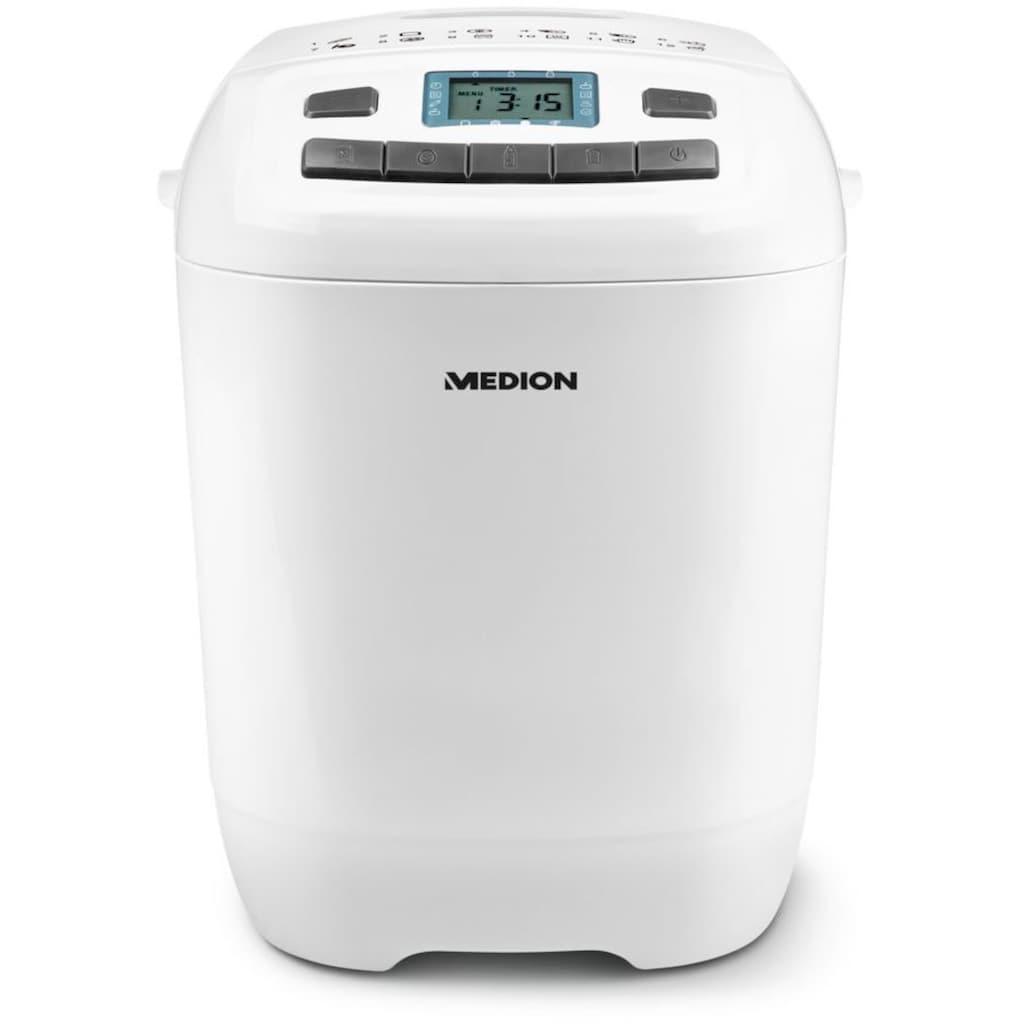 Medion® Brotbackautomat »MD 18636 / 50063510«, 12 Programme, 650 W
