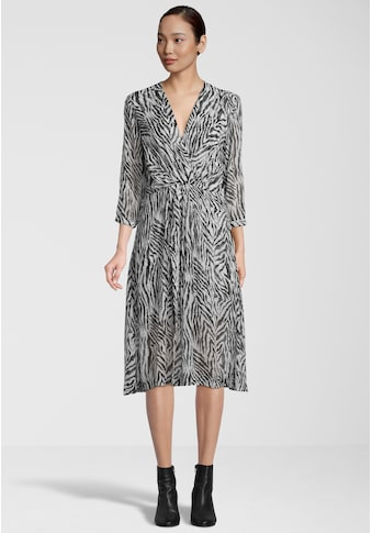 Replay Sommerkleid »mit Animal-Muster«, und Reißverschluss kaufen