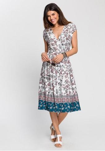 Boysen's Jerseykleid, mit Bordürendruck kaufen