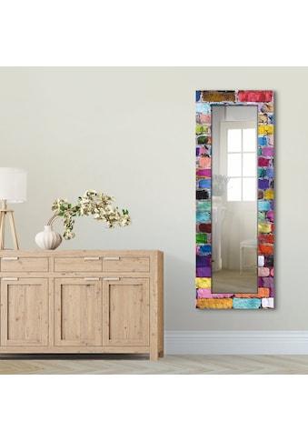 Artland Wandspiegel »Bunte Mauer« kaufen