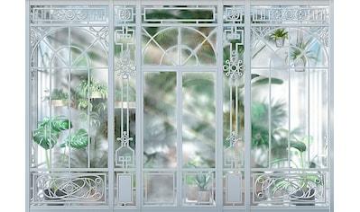 Komar Fototapete »Orangerie«, bedruckt-Wald-geblümt, ausgezeichnet lichtbeständig kaufen