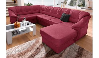 sit&more Wohnlandschaft, wahlweise mit Bettfunktion, inklusive Federkern, frei im Raum stellbar kaufen