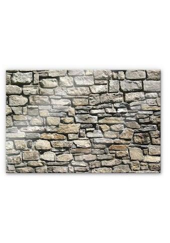 Wall-Art Küchenrückwand »3D Stein Optik Natursteinmauer« kaufen