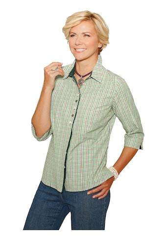 Classic Bluse im attraktiven Webkaro - Dessin kaufen