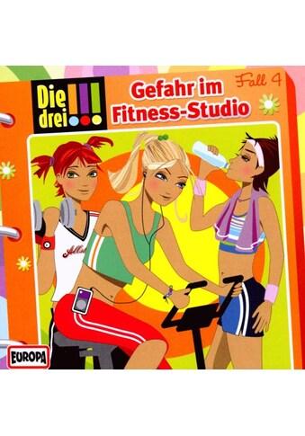 Musik-CD »004/Gefahr Im Fitness-Studio / Die Drei !!!« kaufen