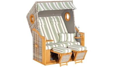 Sonnen Partner Strandkorb »Rustikal 30 Z XL«, mit Bullaugen kaufen