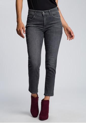 MAC Slim-fit-Jeans »Melanie Pipe«, Schmaler Schnitt mit Keileinsatz vorne kaufen