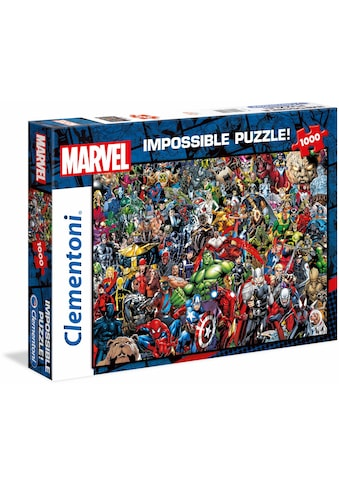 Clementoni® Puzzle »Impossible Collection -Marvel«, Made in Europe kaufen