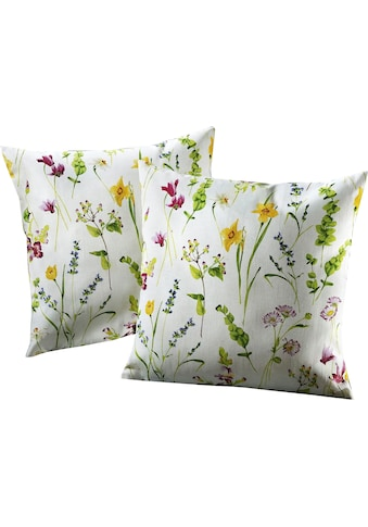 Dohle&Menk Kissenhüllen »Streublümchen«, (2 St.), mit floralem Design (2 Stück) kaufen