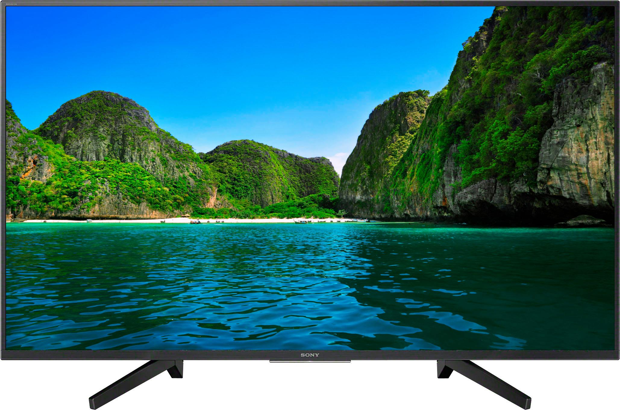 sony kd49xf7004 led fernseher 123 cm 49 zoll 4k. Black Bedroom Furniture Sets. Home Design Ideas