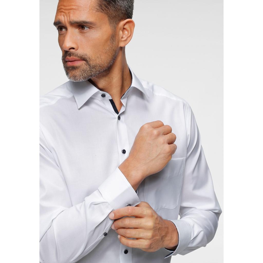 OLYMP Businesshemd »Luxor comfort fit«, mit normaler Armlänge