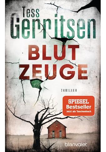 Buch »Blutzeuge / Tess Gerritsen, Andreas Jäger« kaufen