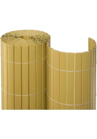 NOOR Balkonsichtschutz, BxH: 3x1,2 Meter, bambusfarben kaufen