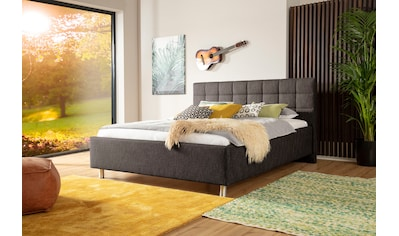 ADA trendline Polsterbett »Kadira«, wahlweise mit Matratze und Lattenrost, in verschiedenen Größen und Härtegraden kaufen