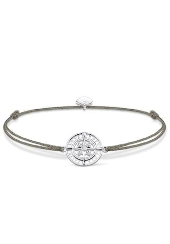 THOMAS SABO Armband »Little Secret Kompass Glaube, Liebe, Hoffnung, LS078-401-5-L20v«, mit Zirkonia kaufen