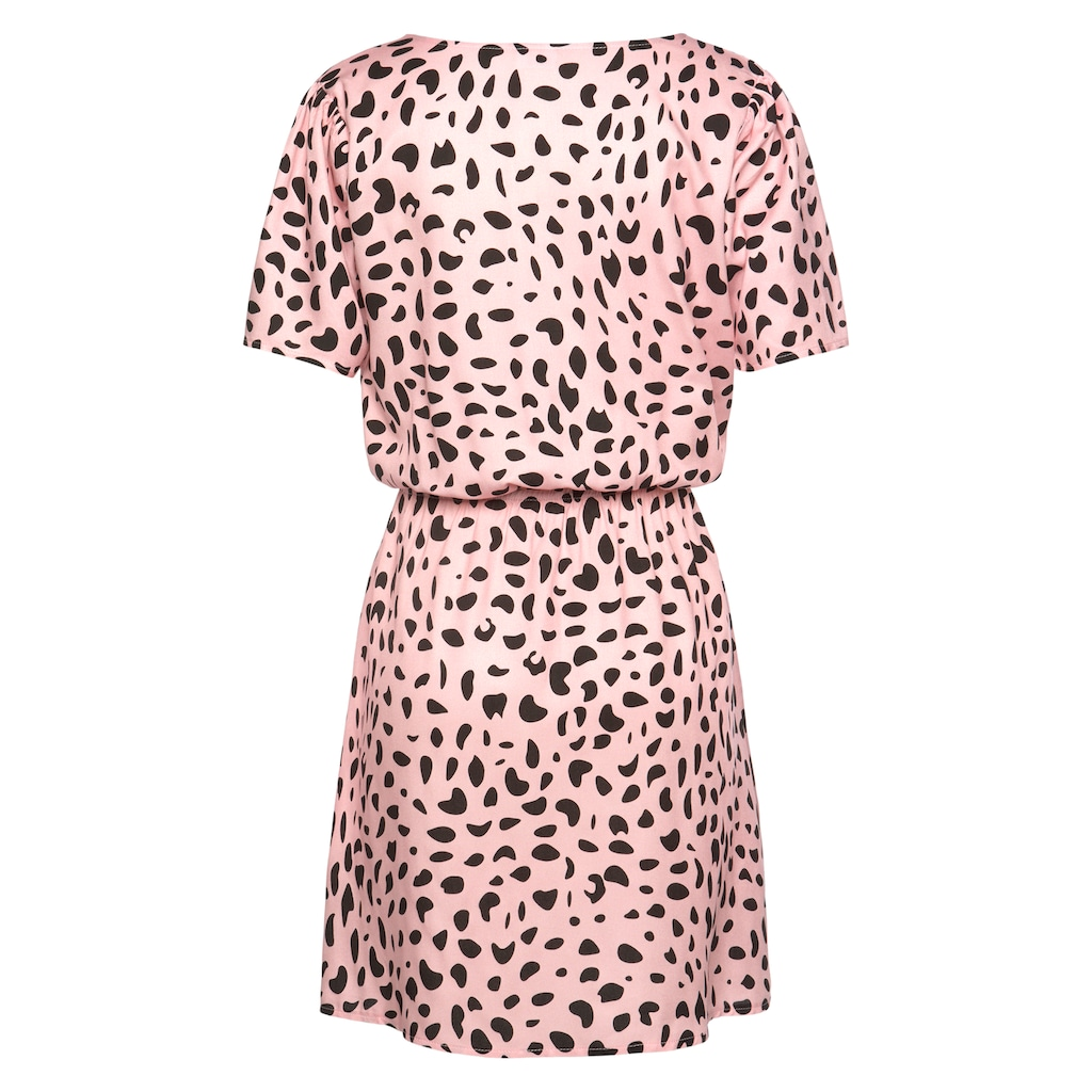 Buffalo Sommerkleid, mit Tupfenprint