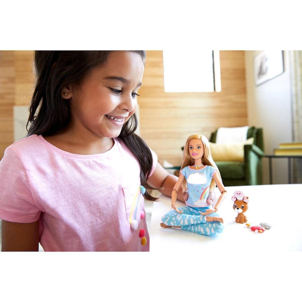 Barbie Anziehpuppe »Wellness Meditation Puppe, blond«