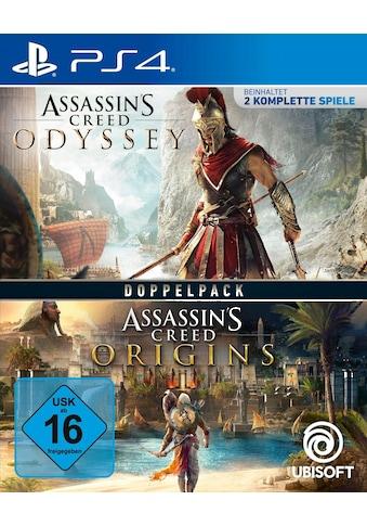 UBISOFT Spiel »Assassin's Creed Odyssey + Origins«, PlayStation 4, Doppelpack kaufen