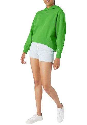 Calvin Klein Jeans Kapuzensweatshirt »MICRO BRANDING HOODIE«, mit Calvin Klein Jeans... kaufen