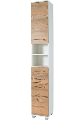 Schildmeyer Hochschrank »Palermo«, Breite 30 cm, verstellbare Einlegeböden, 2 Schubkästen & 2 Türen (Anschlag wechselbar) kaufen