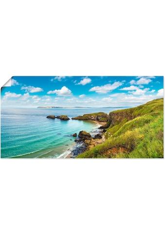 Artland Wandbild »Küstenweg in Carrick - a - Rede« kaufen