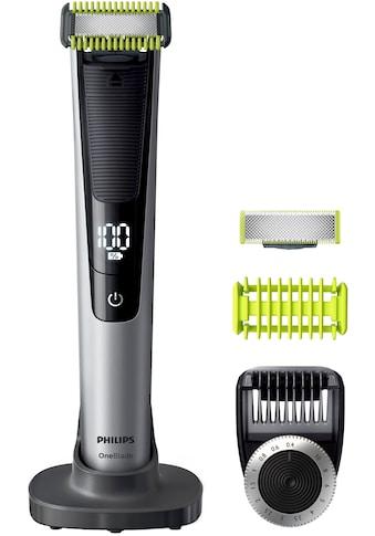 Philips Elektrorasierer »OneBlade Pro Face & Body QP6620/30«, 3 St. Aufsätze, Trimmen,... kaufen