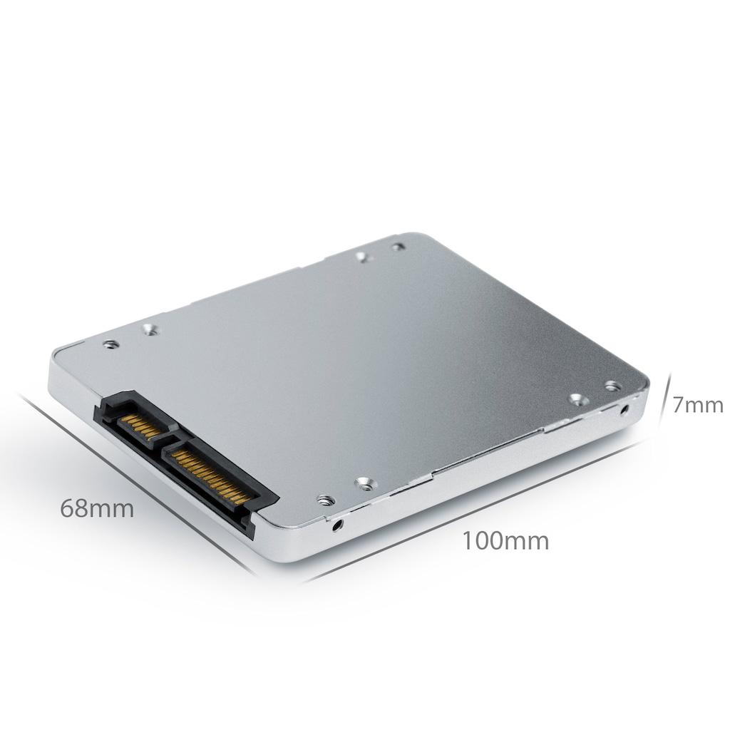 """CSL SSD 8,89cm (2,5"""") mSATA zu SATA Adapter-Gehäuse"""