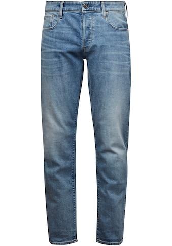 G - Star RAW Regular - fit - Jeans »3301 Straight Tapered« kaufen
