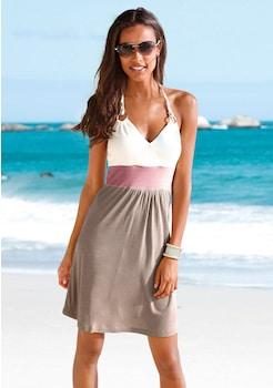 Beachtime Strandkleid mit Color - Blocking kaufen 284f168603